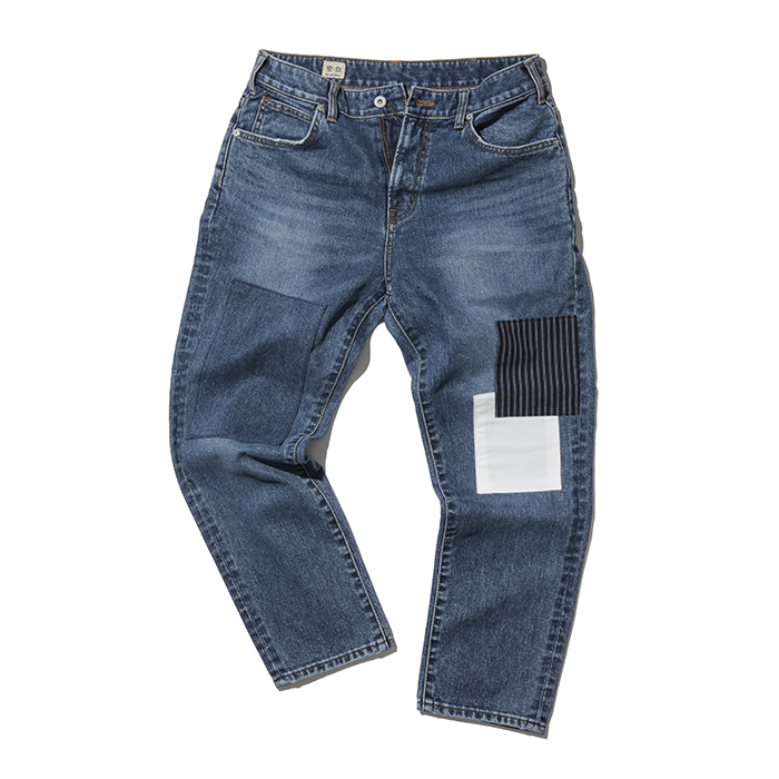 [공백] Patch Work Denim