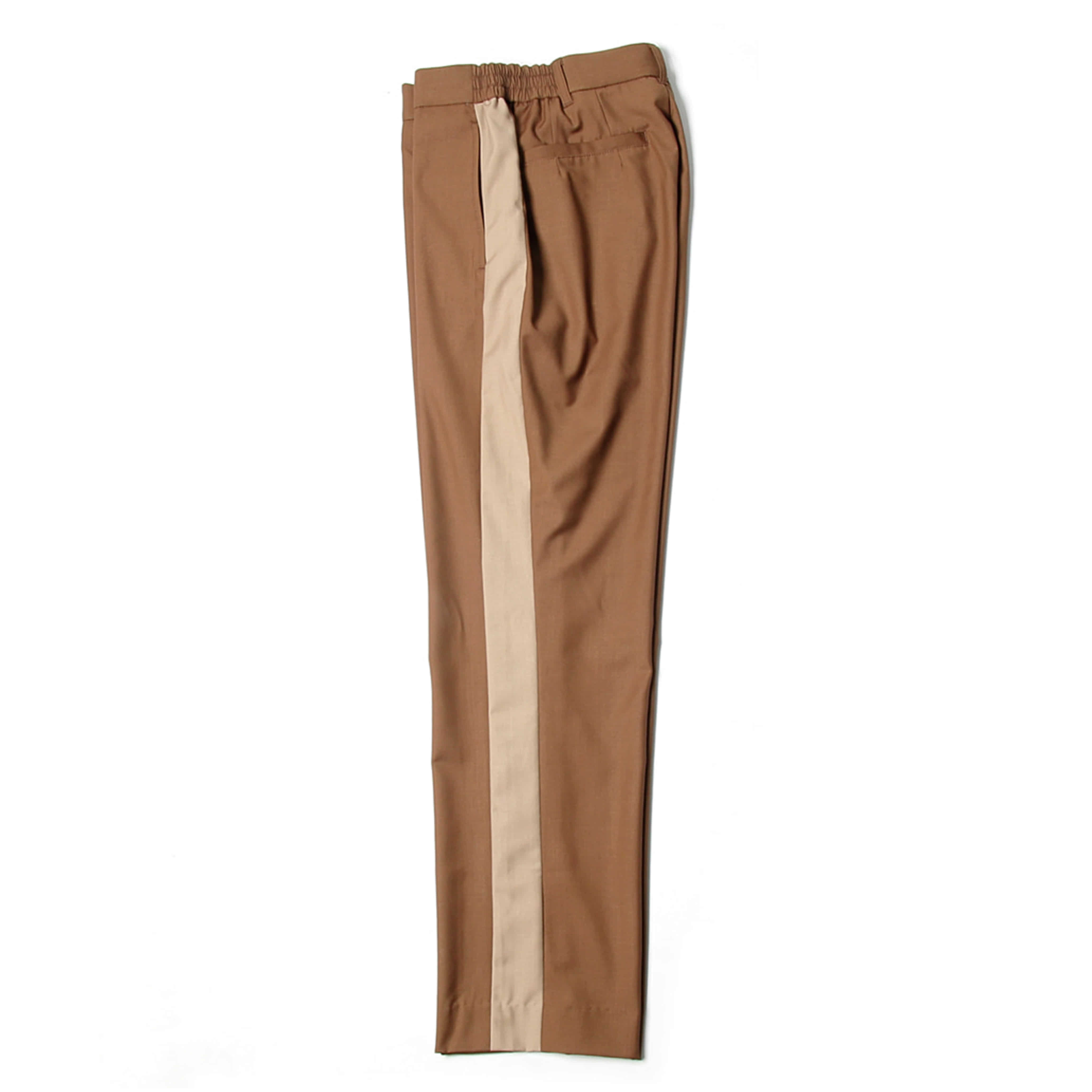 비헤비어 SIDELINE BANDING PANTS_BROWN