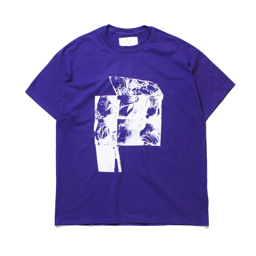 가쿠로 'UNTITLED #1' T-SHIRT_PURPLE