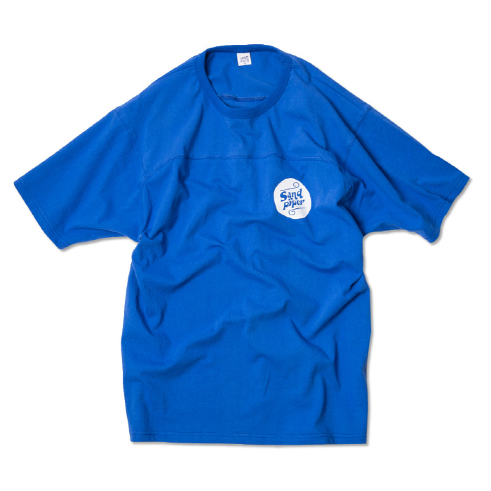 샌드파이퍼 AUTHENTIC LOGO T SHIRTS_BLUE