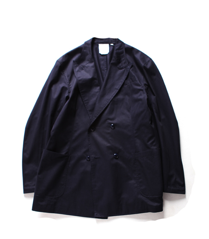 브라운야드 Double Breasted Jacket_Navy