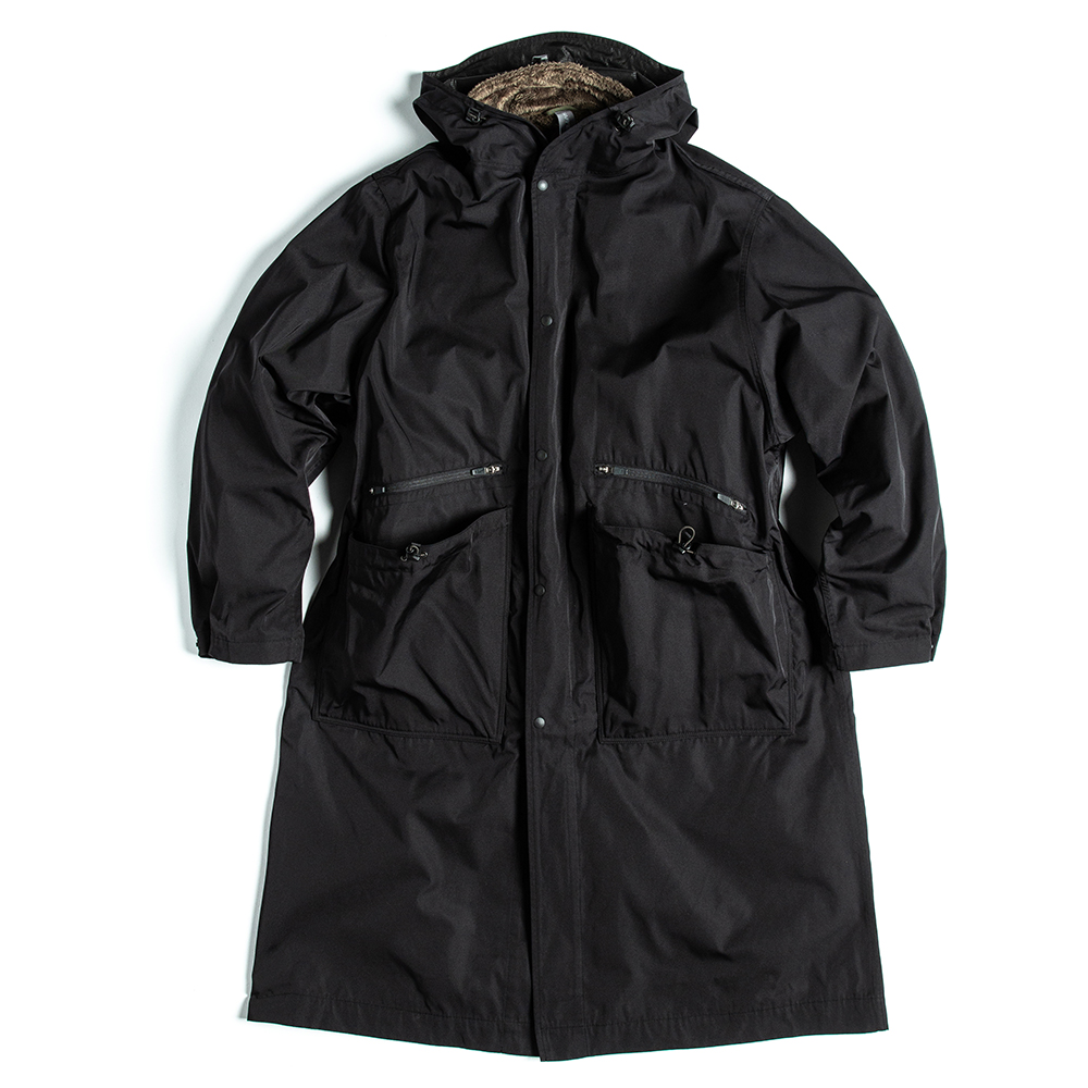 언어펙티드 OVERSIZED LONG PARKA_Black
