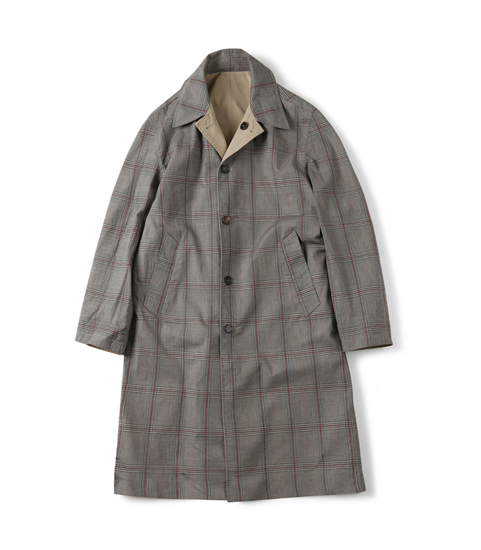 셔터 REVERSIBLE CHECK COAT_Glen Check
