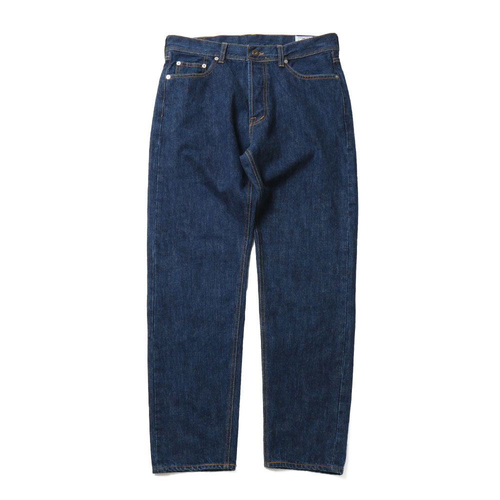 홀리선 Blueborn Loose Tapered Denim Pants_Normal Navy