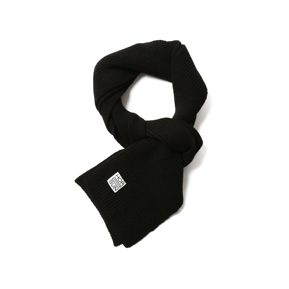 홀리선 Skiff Knit Muffler_Black