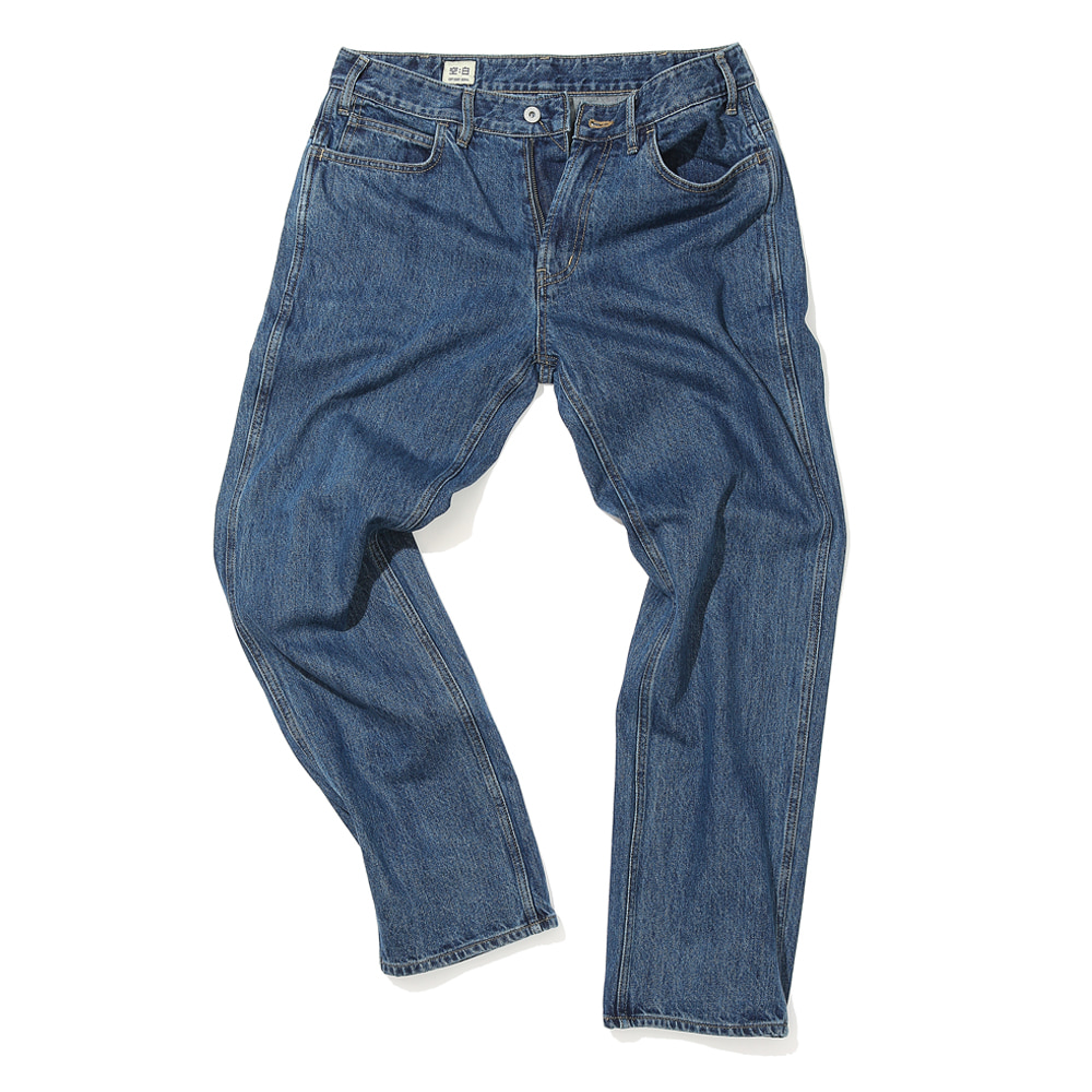 공백 Regular standard denim
