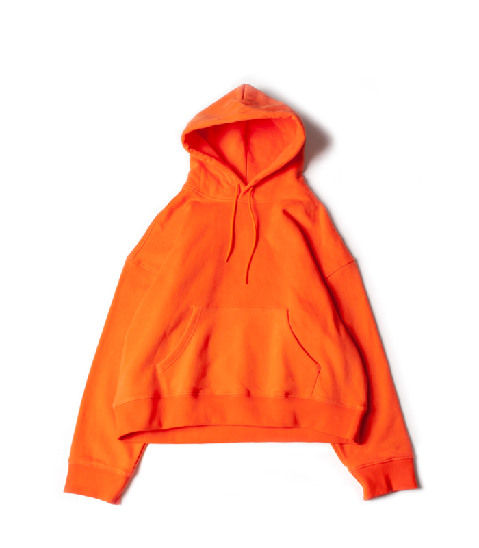 브라운야드 Wide Hoodie_Orange