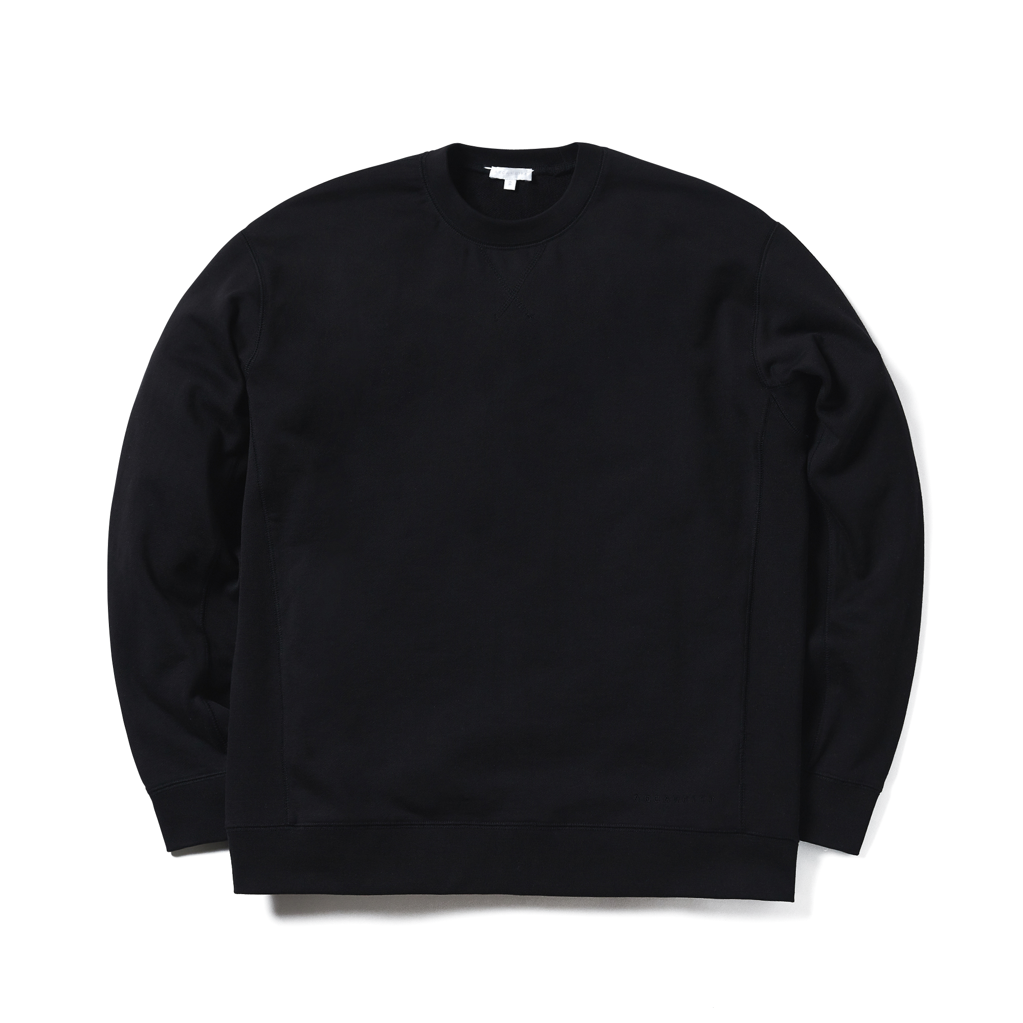 에이카화이트 MILES SWEATSHIRT_Black