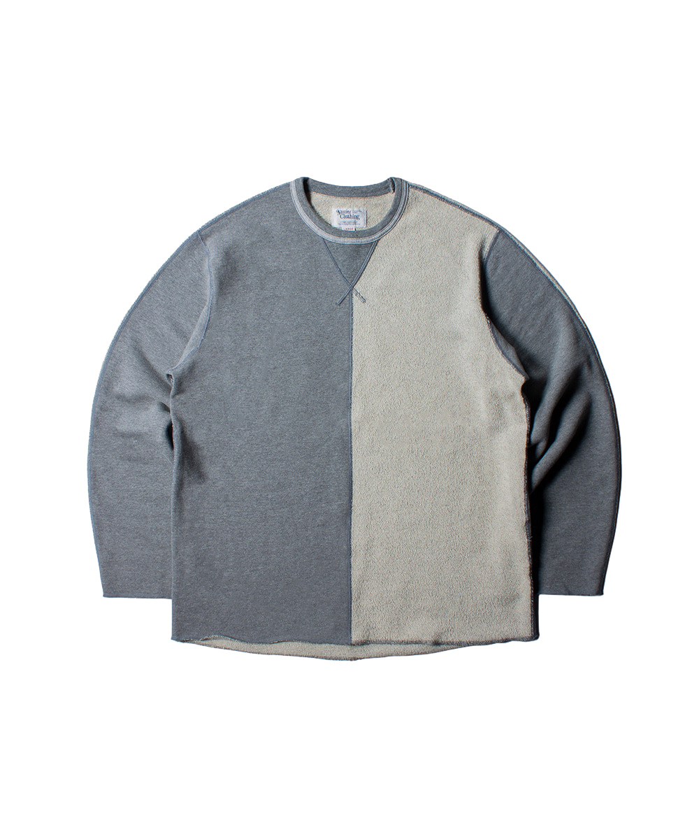 네이머클로딩 2ND HALF CREWNECK_Grey