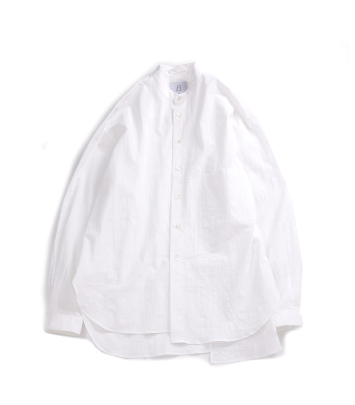 브라운야드 Unbalance Shirts 02_White