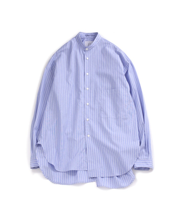 브라운야드 Unbalance Shirts 02_Blue
