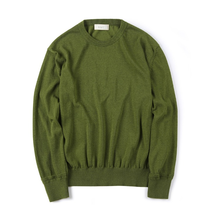 셔터 STURDY LINEN KNIT_Green