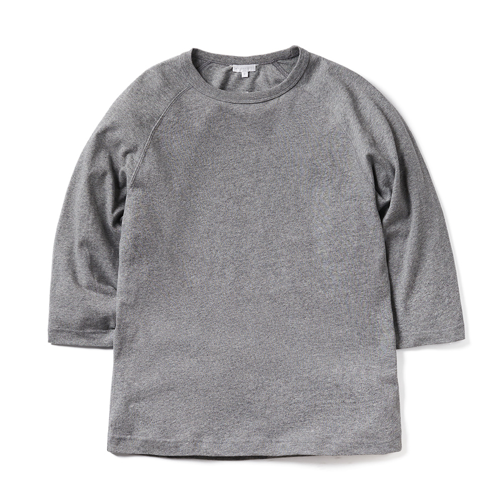 에이카화이트 LOUISE RAGLAN TEE_Grey