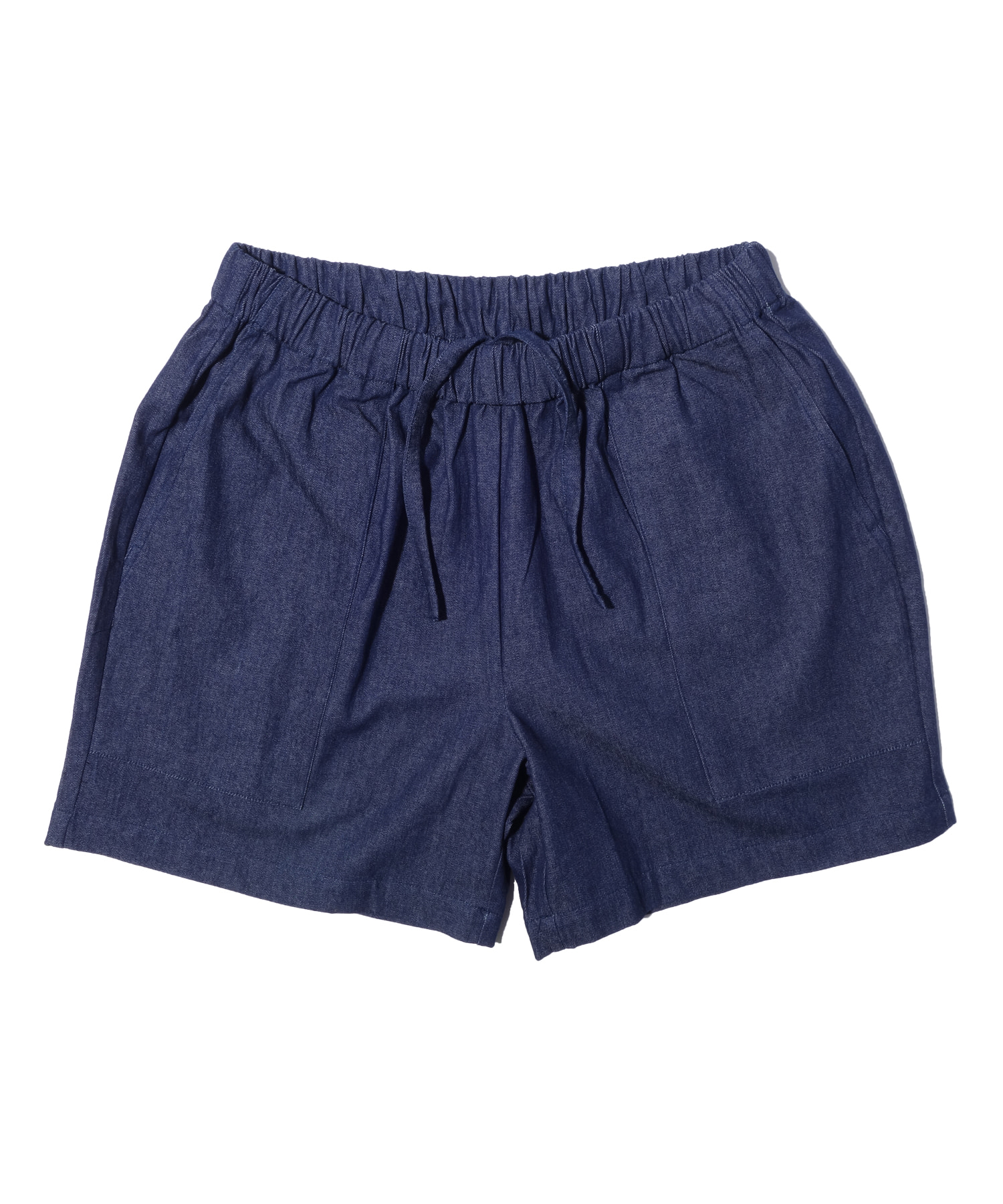 해버대셔리 CHAMBRAY BEACH SHORTS_Indigo