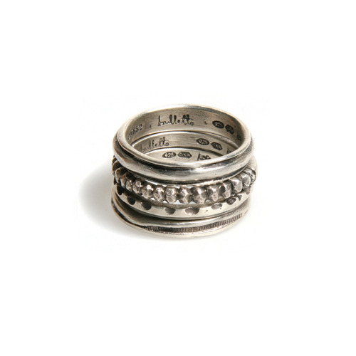 불레또 17 Layered ring set
