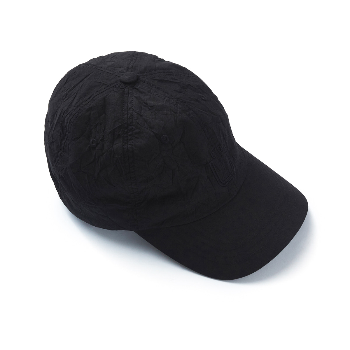 언어펙티드 DRAWSTRING BALL CAP (Black)
