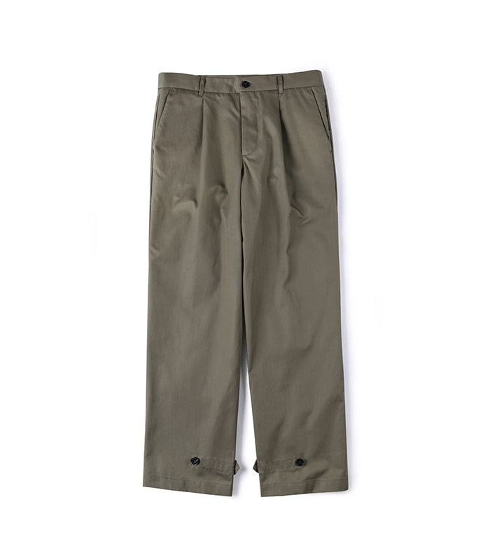 셔터 GABARDINE COTTON PANTS_Khaki