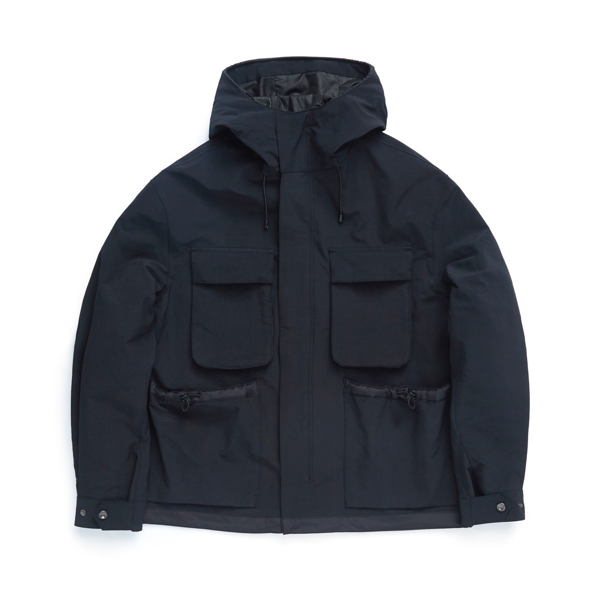 언어펙티드 FUNCTIONAL FIELD PARKA_Black