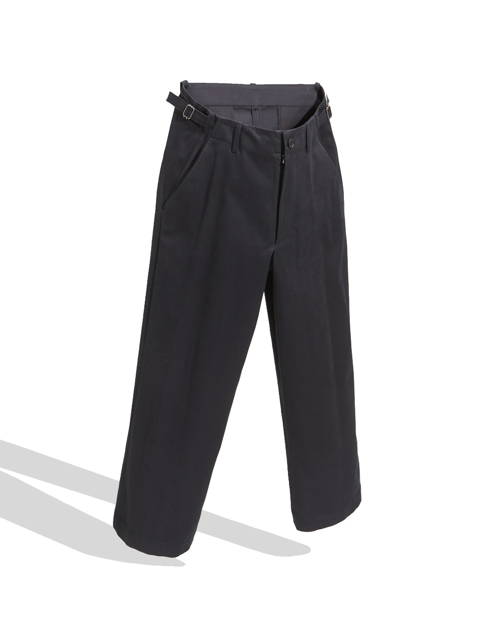 유스 Wide Chino Pants (Black)