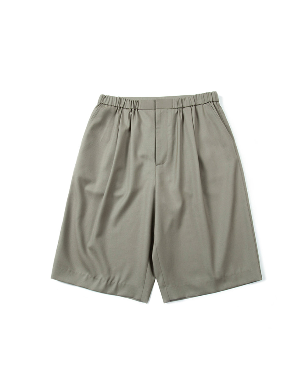 브라운야드 Half Pants (Light Olive)