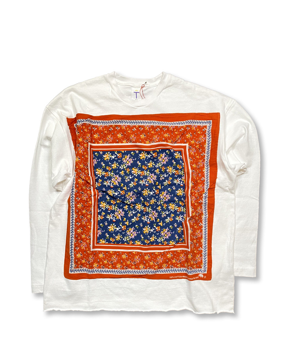 벌스데이수트 Vintage Bandana Long Sleeve (White)_TYPE 28