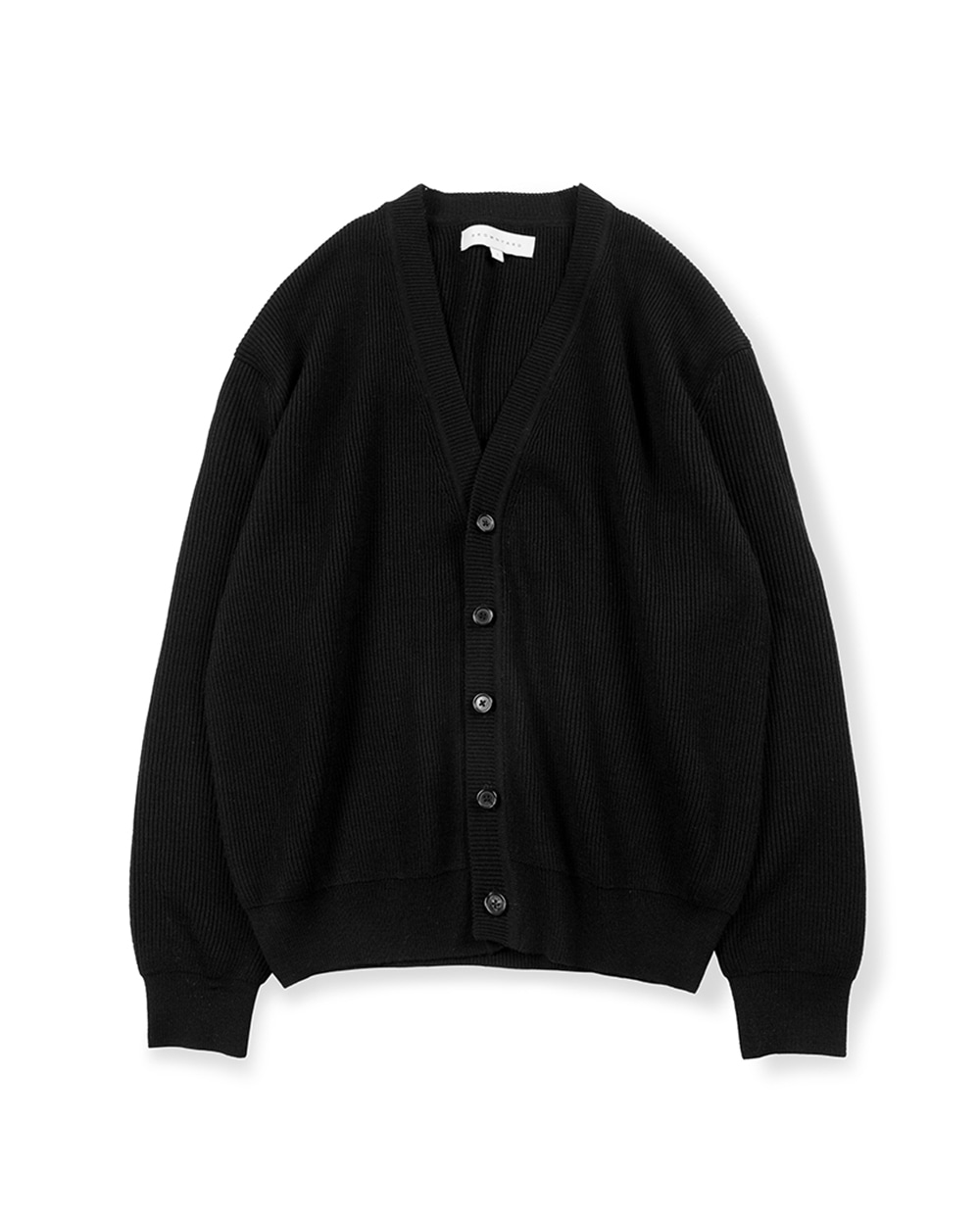브라운야드 ESSENTIAL CARDIGAN (Black)