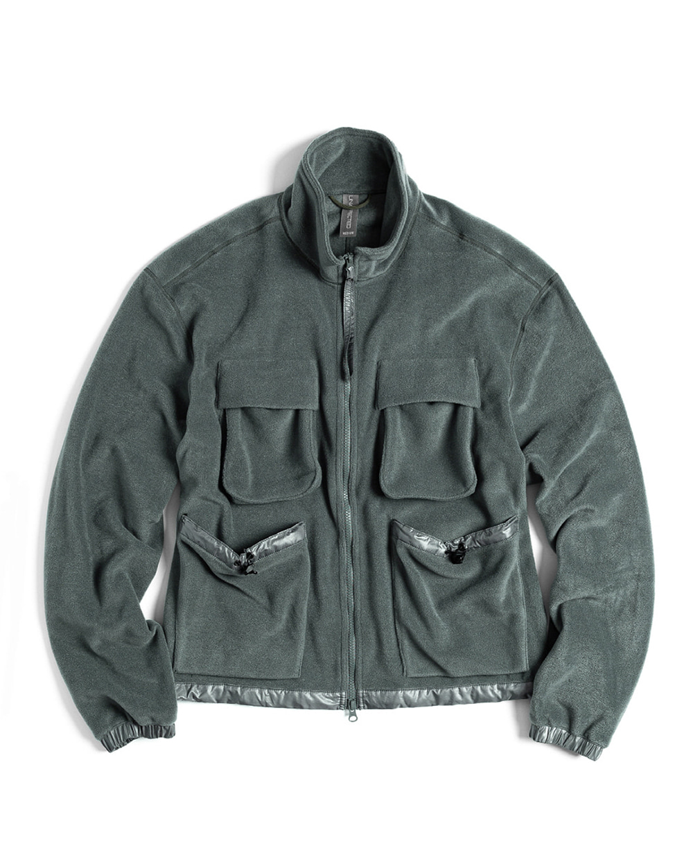언어펙티드 FULL ZIP POLAR FLEECE JACKET (Aqua Smoke)