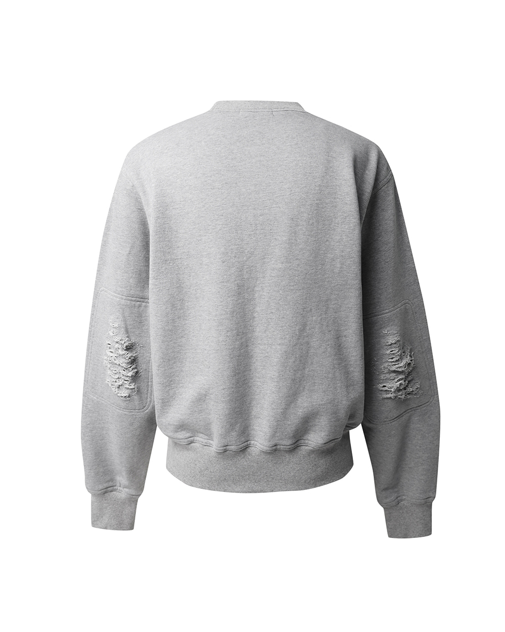 ATE STUDIOS AUTHENTIC SCAR SWEAT SHIRTS (Grey)