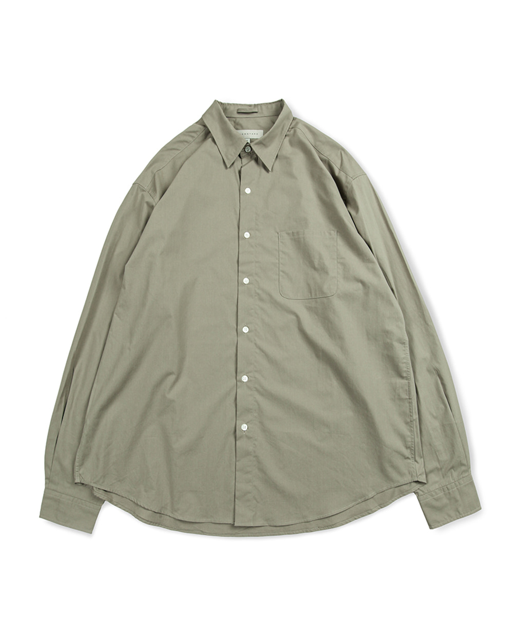 브라운야드 STEADY SHIRTS (Olive grey)