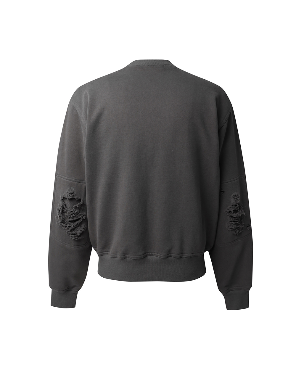 ATE STUDIOS AUTHENTIC SCAR SWEAT SHIRTS (Charcoal)