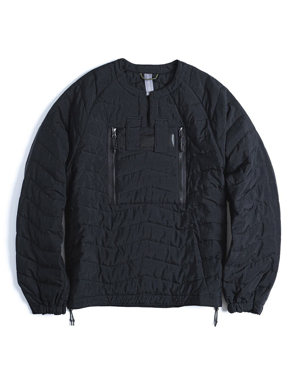 언어펙티드 QUILTED PULLOVER JUMPER (Black)