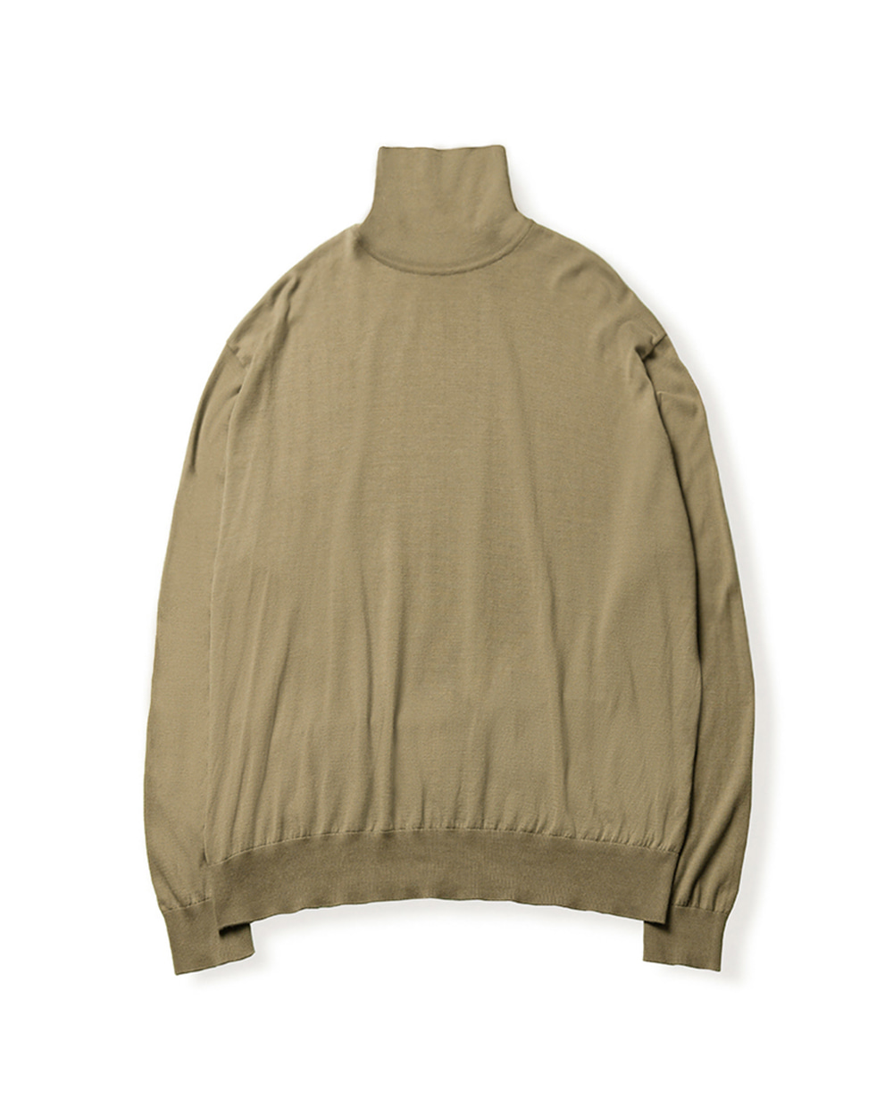 브라운야드 HIGH GAUGE TURTLENECK (Dark beige)