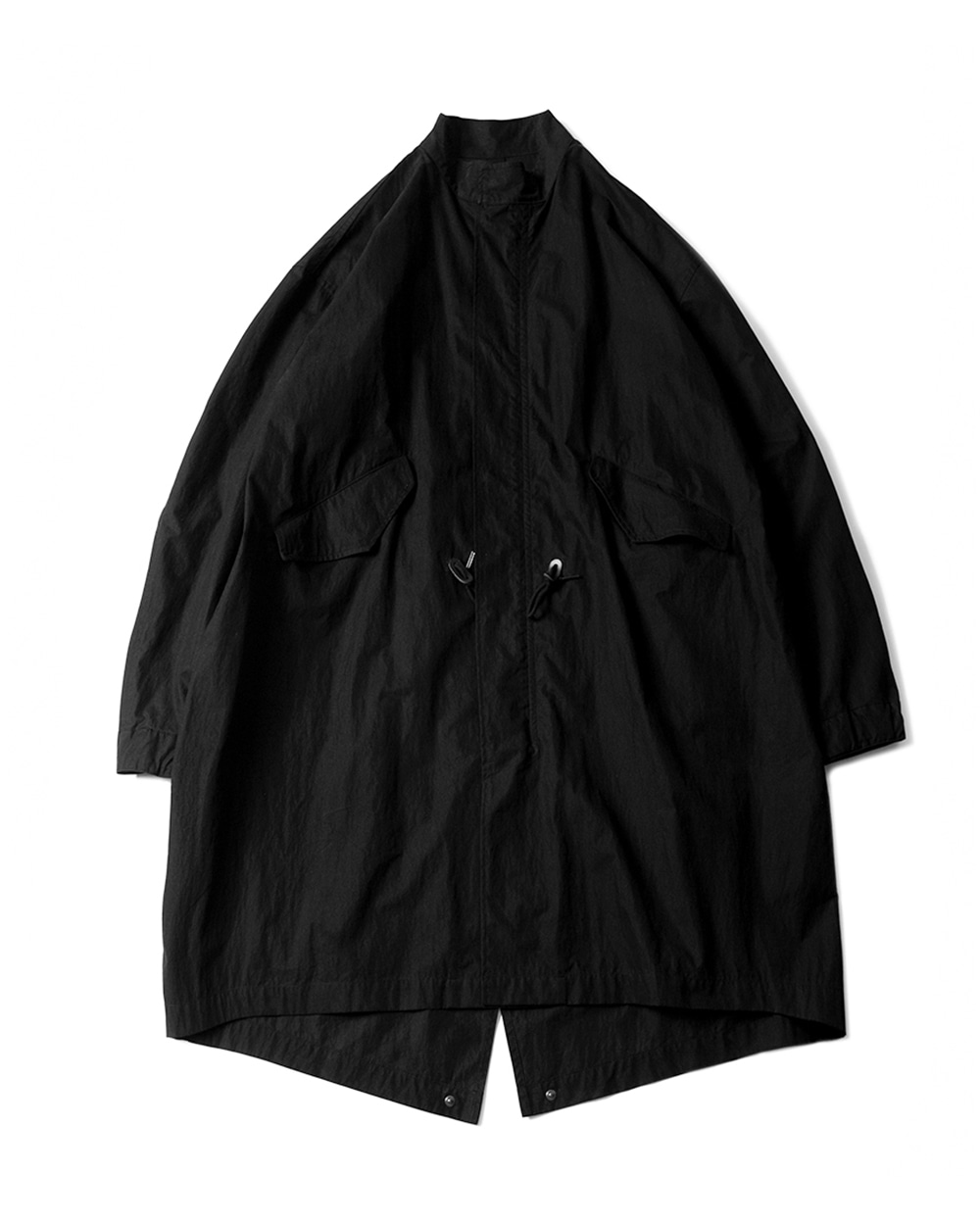 브라운야드 ESSENTIAL PARKA X TAION (Black)