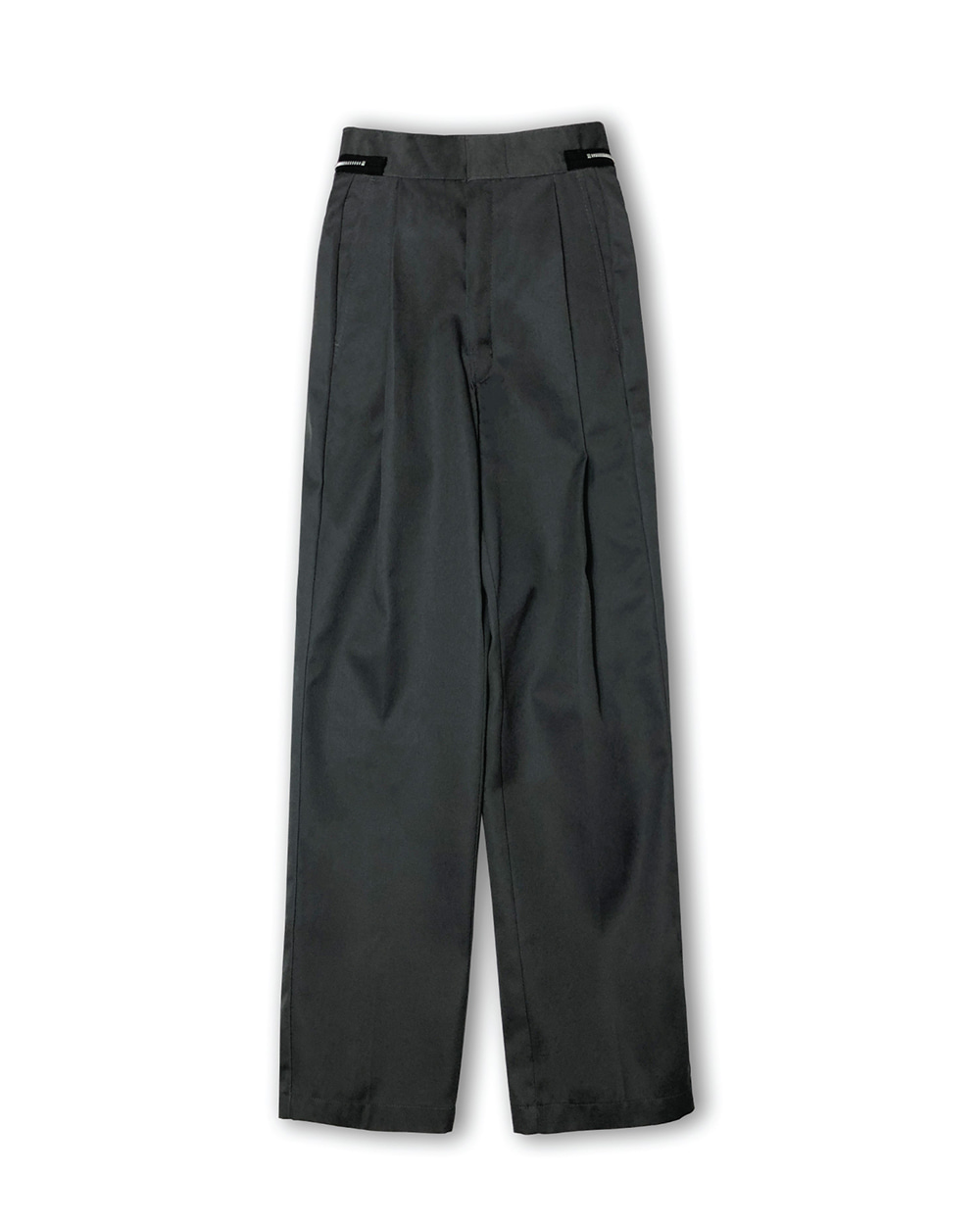 GOOD NEWS  WIDE FIT PANTS (T/Green)