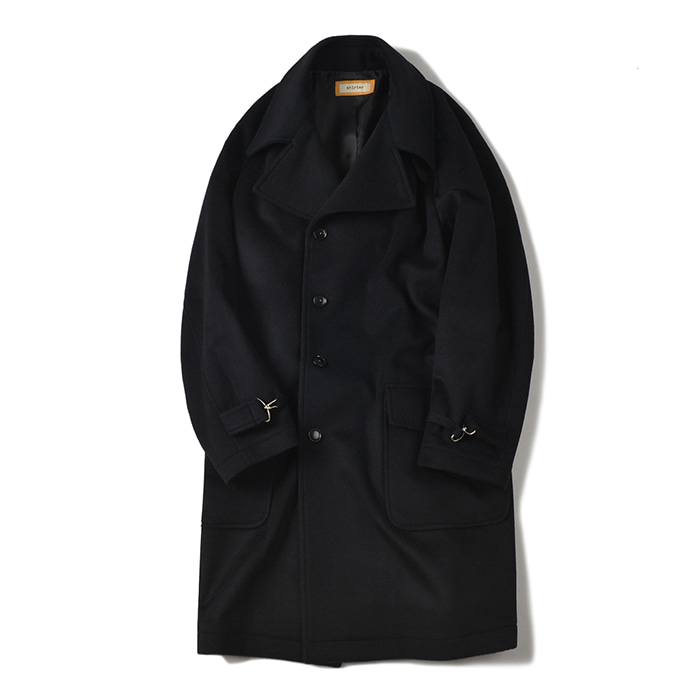 [shirter] BELTED ARMOR COAT_BLACK