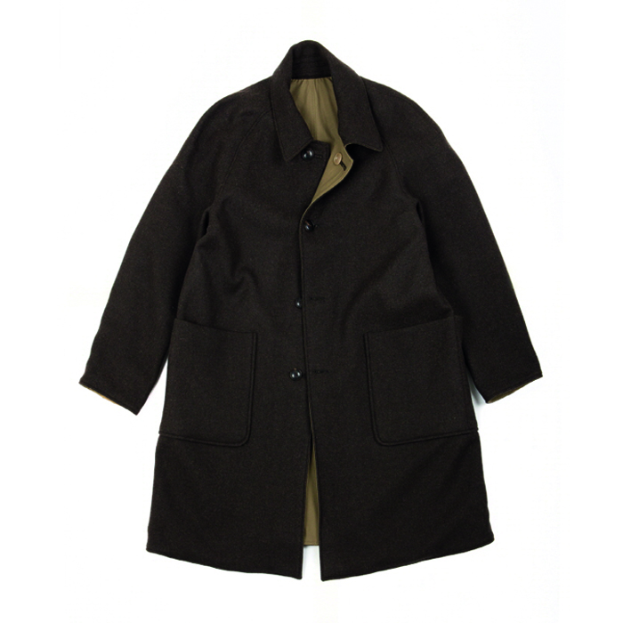 [브라운야드] UTILITY REVERSIBLE COAT_DARK BROWN/KHAKI