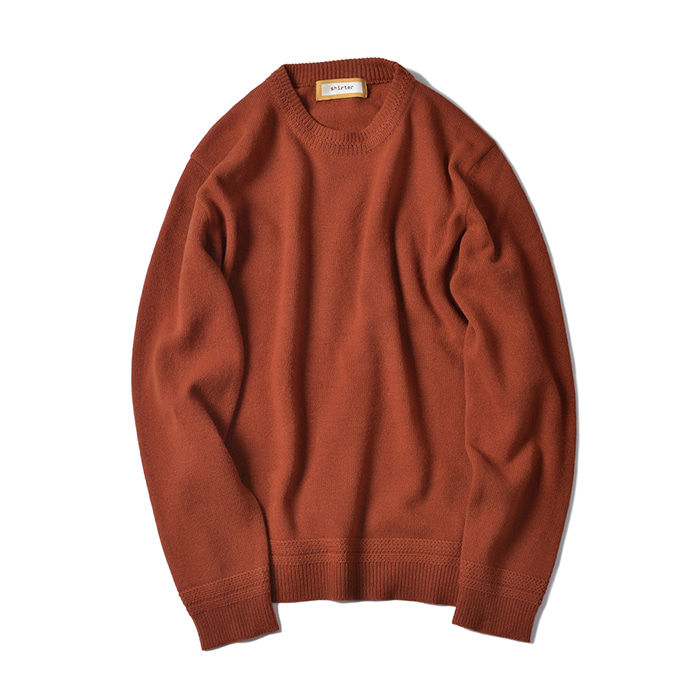[shirter] MAPLE KINT (Red orange)