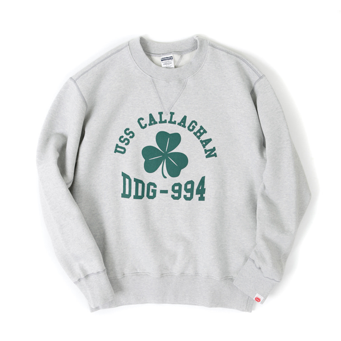 [아웃스탠딩] USS CALLAGHAN SWEAT SHIRT [GRAY]