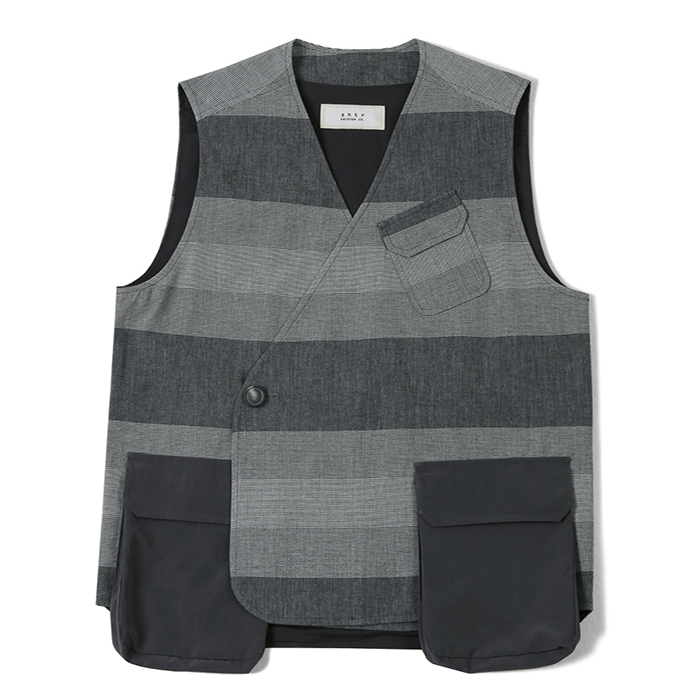 셔터 AIR POCKET DOUBLE VEST_GREY