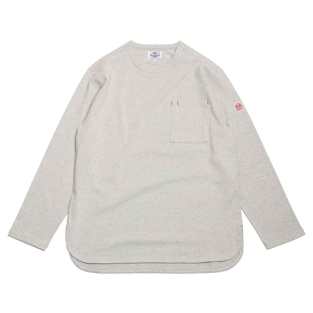 홀리선 EMERY SPRING LONG SLEEVE POCKET T [Gray]