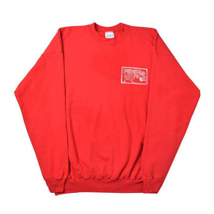 FEVERINC FLAMEHAND FEVERS SWEATSHIRTS [Red]