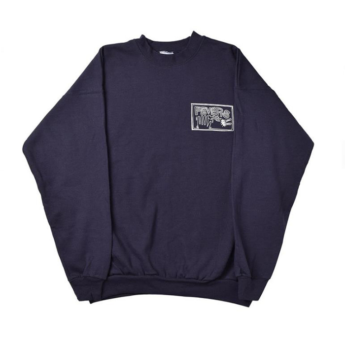 FEVERINC FLAMEHAND FEVERS SWEATSHIRTS [Navy]
