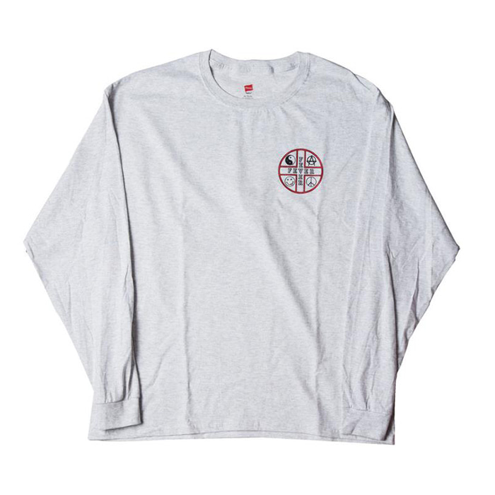 FEVERINC FEVER CROSS LOGO TEE [Gray]