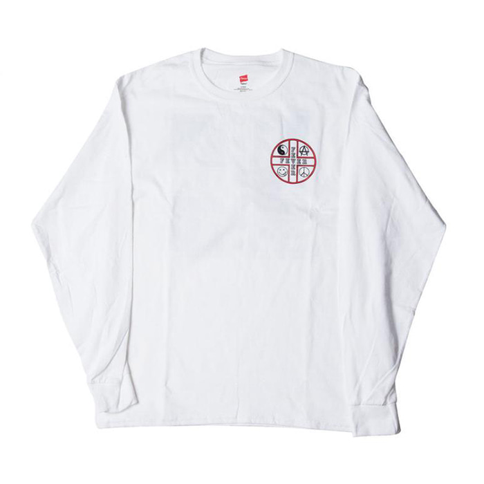 FEVERINC FEVER CROSS LOGO TEE [White]