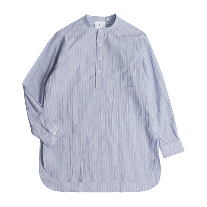 브라운야드 TUNIC SHIRTS_BLUE STRIPE