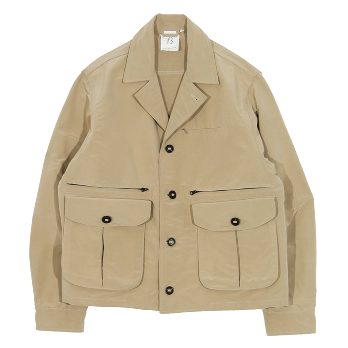 브라운야드 MULTI POCKET JACKET02_BEIGE