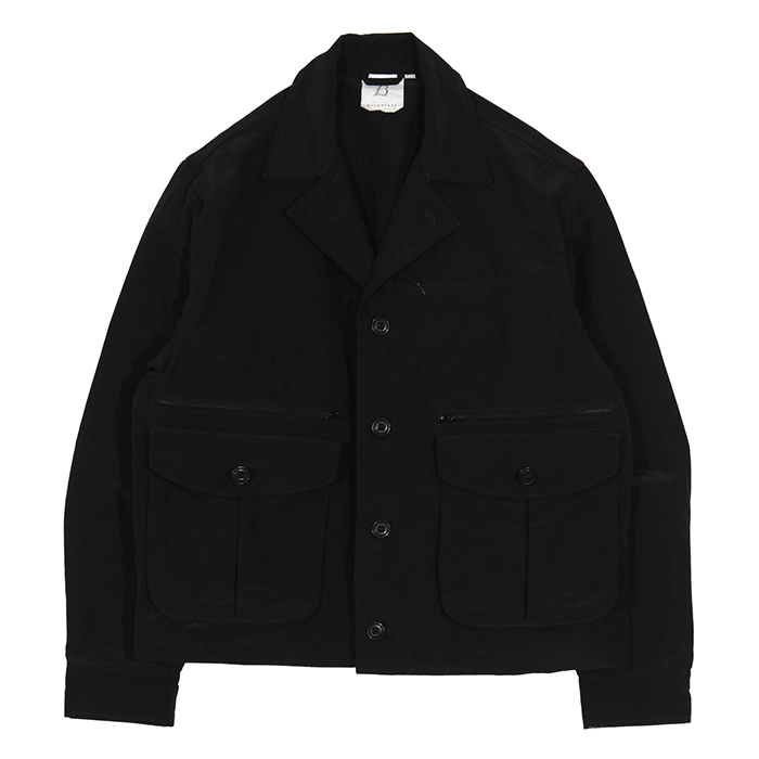 브라운야드 MULTI POCKET JACKET02_BLACK