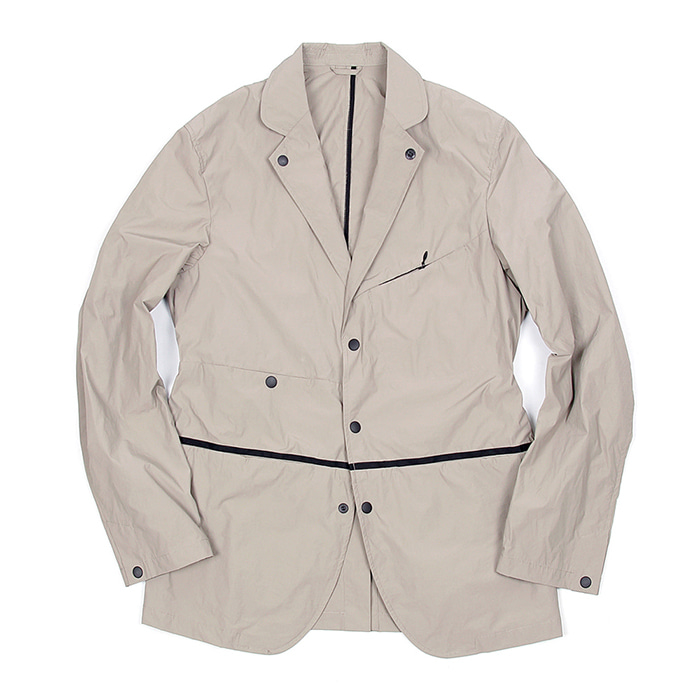 비헤비어 PACKABLE JACKET_LIGHT GREY
