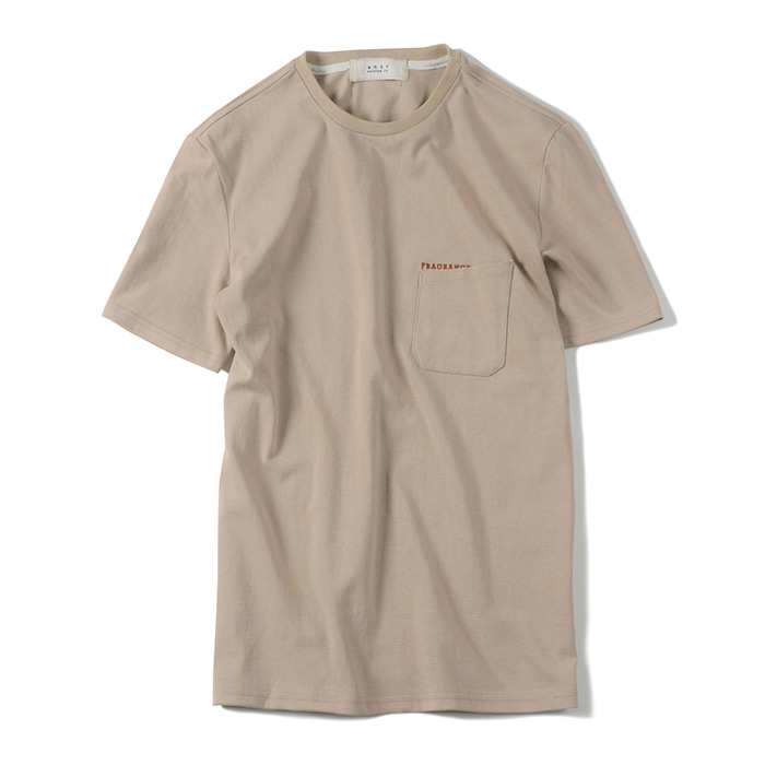 셔터 FRAGRANCE T-SHIRT_BEIGE