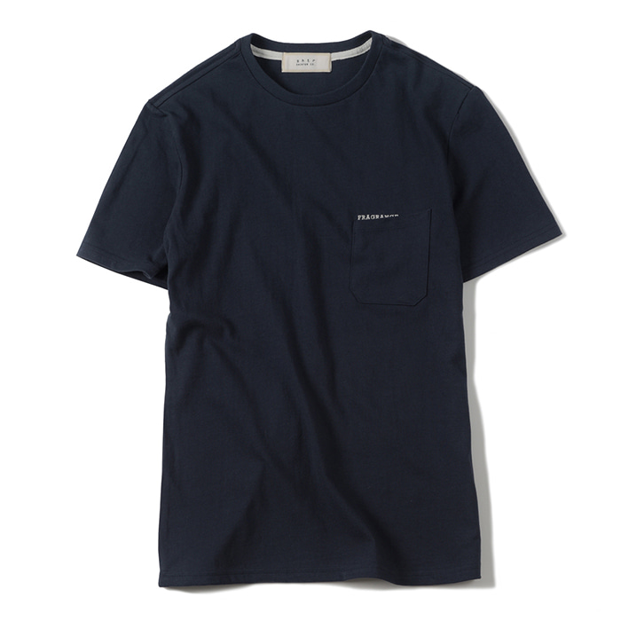 셔터 FRAGRANCE T-SHIRT_NAVY
